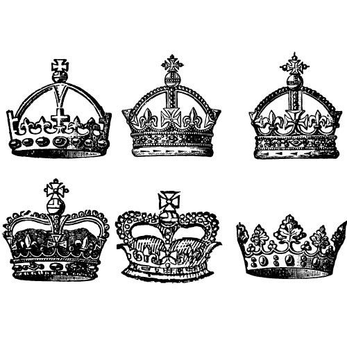 Crown Vector Art