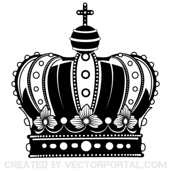 Crown Vector Art Free