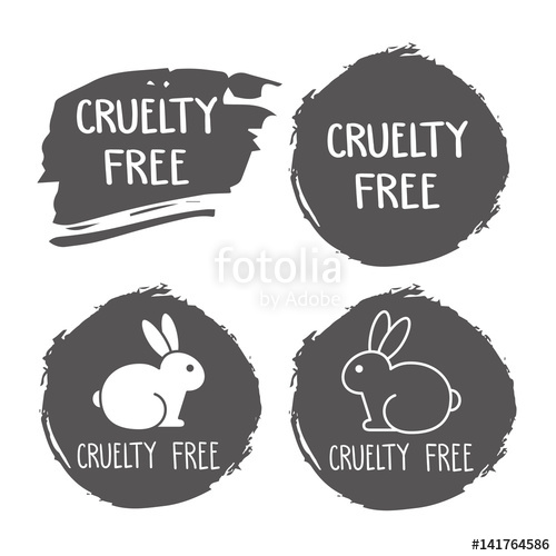 500x500 Cruelty Free Icon. No Animals Testing Sign. Product Not Tested On