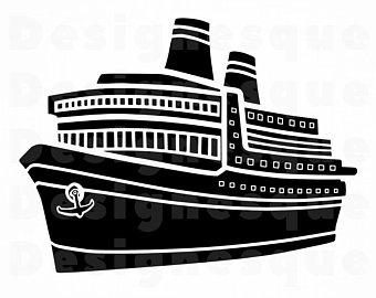 340x270 Cruise Ship Vector Etsy