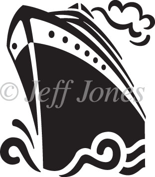 311x355 Luxury Liners Cruise Ship Icon Vector Illustration