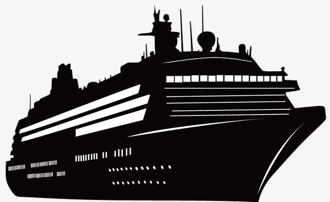 650x397 Silhouette Of Ship Modeling, Silhouette Vector, Ship Vector