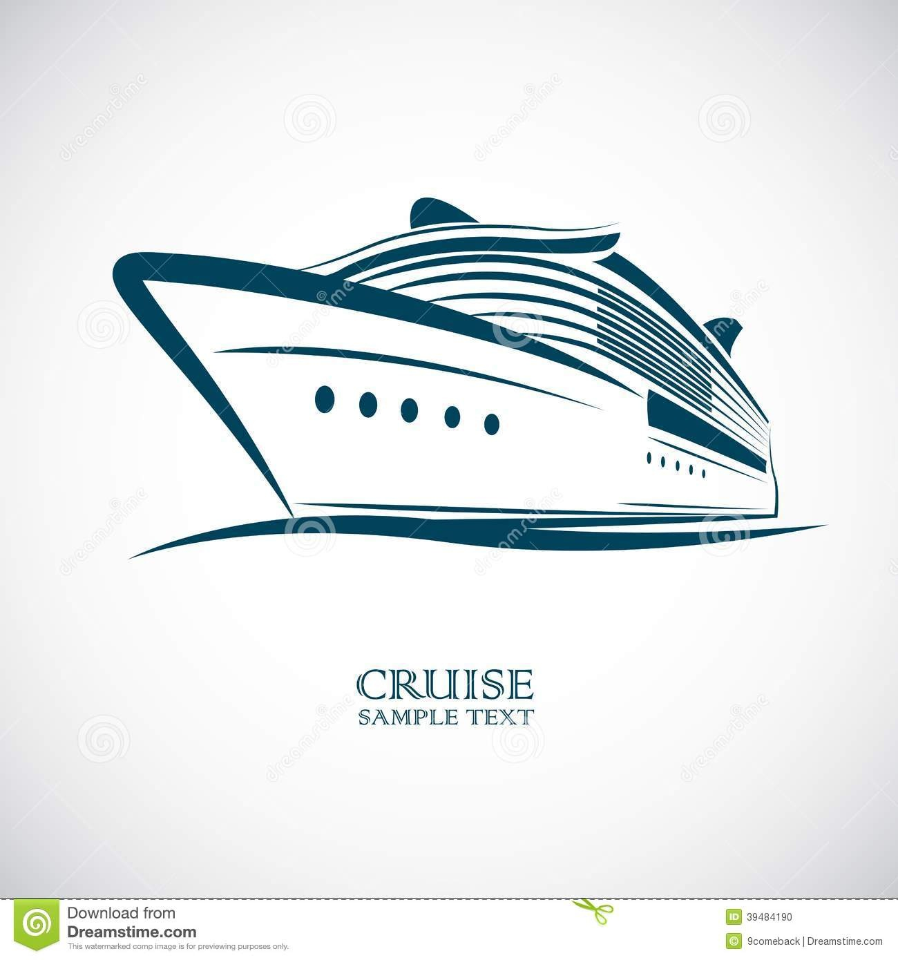1300x1390 Collection Of Free Cruising Clipart Outline. Download On Ubisafe