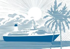 286x200 Cruise Ship Free Vector Art