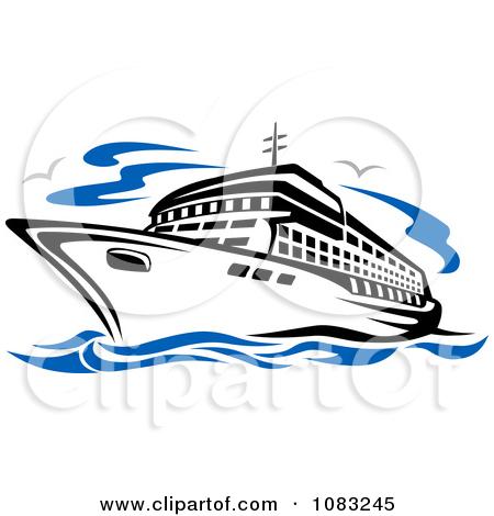 450x470 Cruise Ship Free Vector Clipart