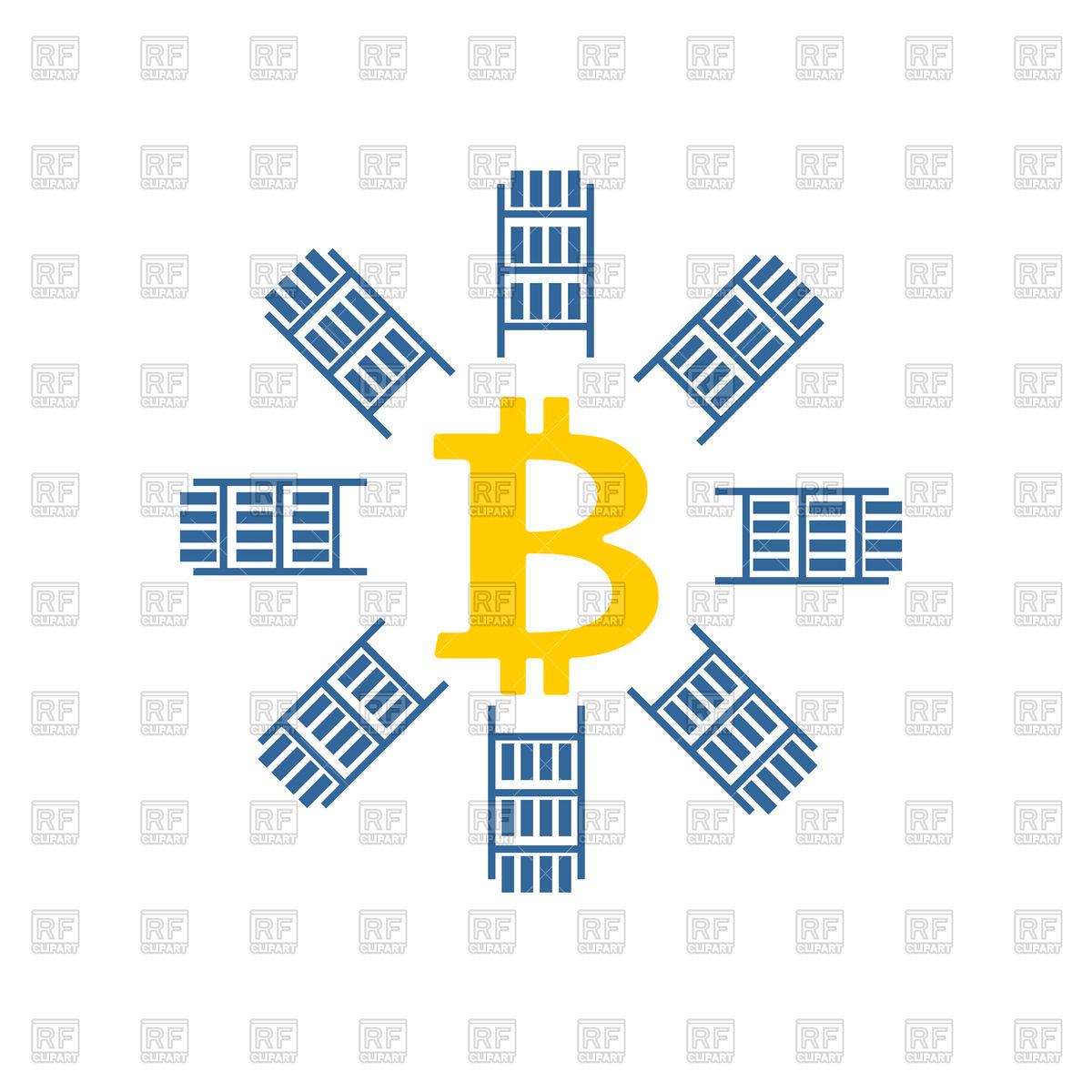 1200x1200 Bitcoin Icon On White Background