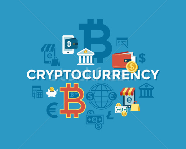 600x480 Digital Vector Bitcoin Electronic Cryptocurrency Vector