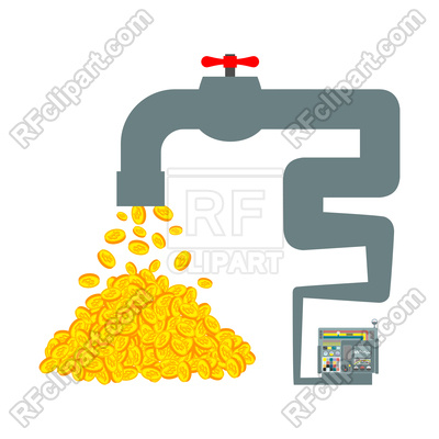 400x400 Extraction Of Cryptocurrency Concept Vector Image Vector Artwork