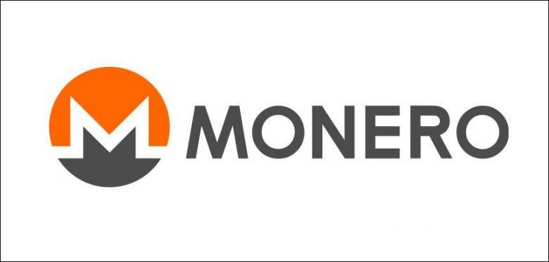 780x372 Monero Cryptocurrency Logo Vector