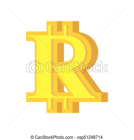 450x469 B Letter Bitcoin Font. Cryptocurrency Alphabet. Lettering Virtual