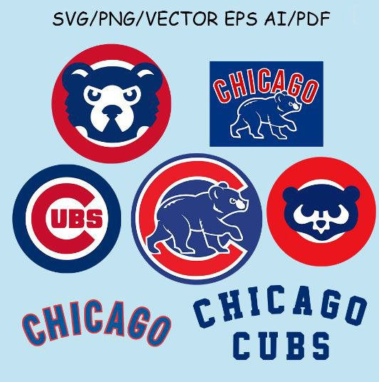 532x536 Chicago Cubs Logo Svg Chicago Cubs Clipart Chicago Cubs Vector