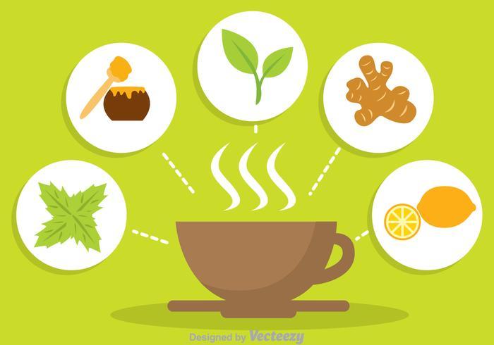 700x490 Herbal Tea Vector