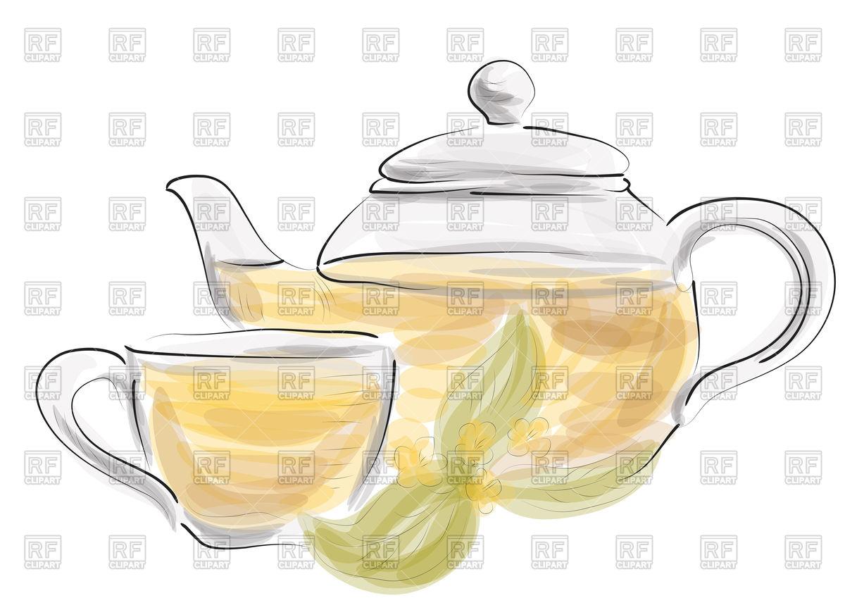 1200x849 Herbal Tea On White Background
