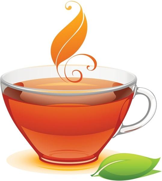 539x600 A Cup Of Tea Vector Free Vector In Encapsulated Postscript Eps