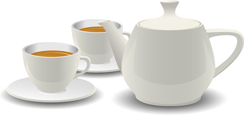 498x235 Tea Cup Free Vector Download (1,476 Free Vector) For Commercial