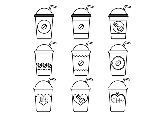 572x407 Plastic Coffee Cup Vector Free Vector Download In .ai, .eps