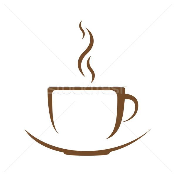 600x600 Hot Coffee Cup Vector Vector Illustration Aleksandr Kalugin