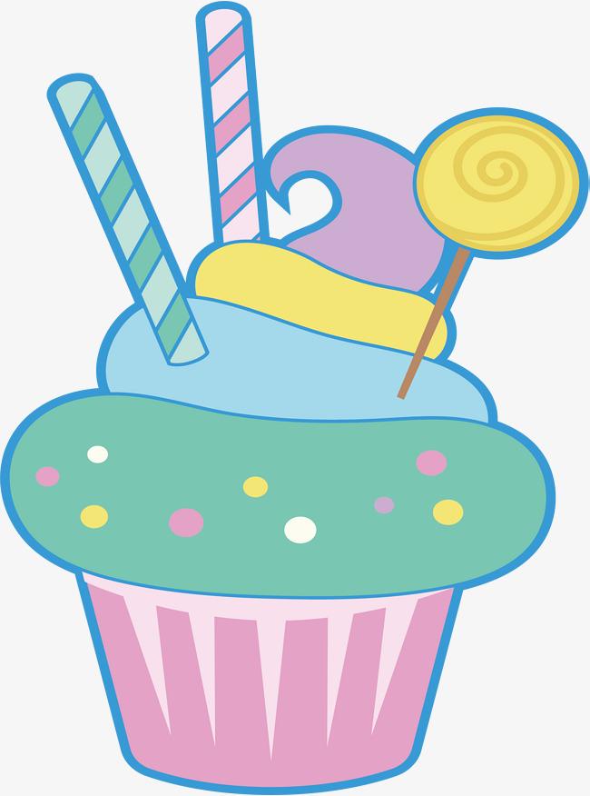 650x876 Color Spiral Cupcake, Color Vector, Spiral Vector, Cupcake Vector