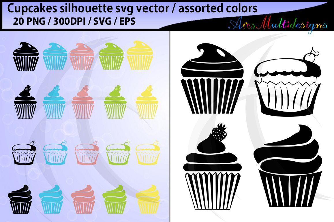 1158x772 Cupcake Silhouette Svg Cupcake Vector Cupcake Clipart