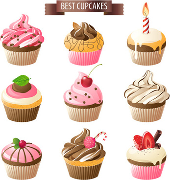 347x368 Cupcake Vector Free Vector Download (157 Free Vector) For