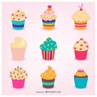 Cupcake Vector Free