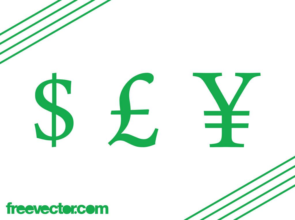 1024x765 Currency Symbols Vector Vector Art Amp Graphics