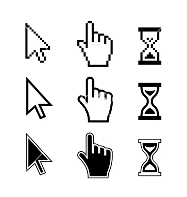 380x400 Free Cursor Icon Vector 393619 Download Cursor Icon Vector