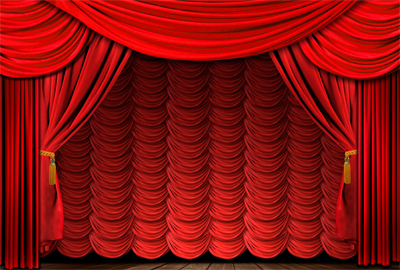 400x270 Luxurious Red Curtain Vector 01 Free Download