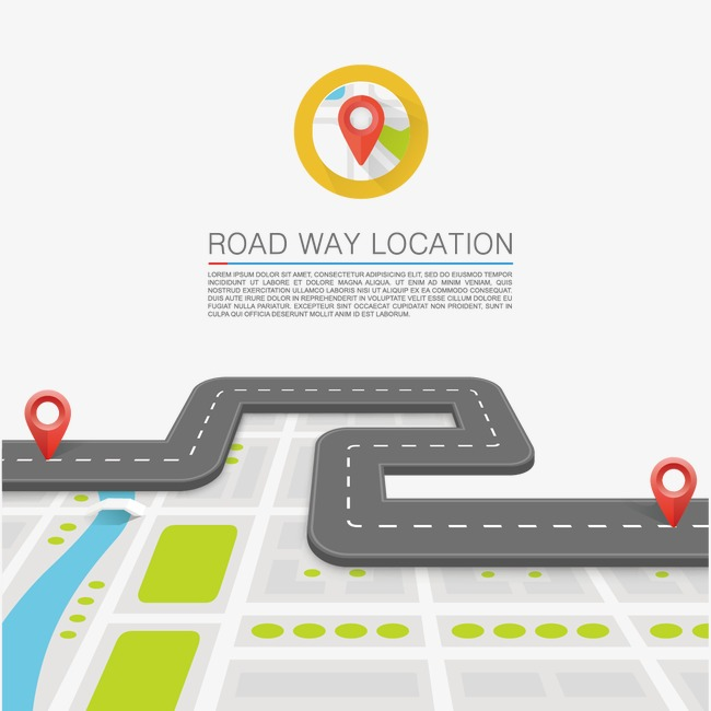 650x650 Curved Road, Road, Road, Highway Png And Vector For Free Download