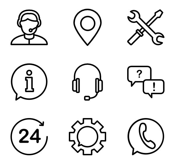 600x564 Customer Service Icons