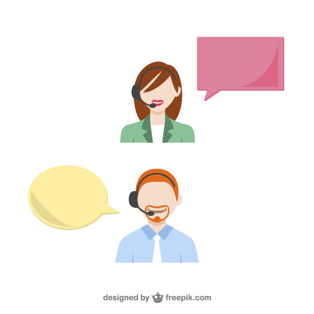 626x626 Customer Service Support Vector Free Download