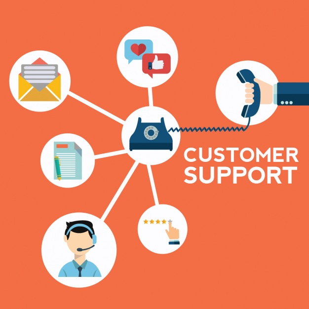 626x626 Customer Support Background Vector Free Download