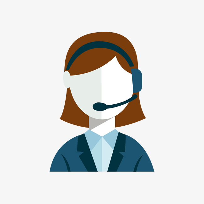 650x651 Vector Customer Service Staff, Support Staff, Female, Flat Png And