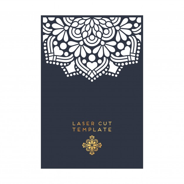 626x626 Decorative Laser Cut Template Vector Free Download