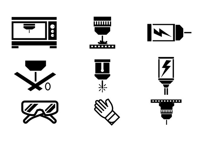 700x490 Laser Cut Vector Icons
