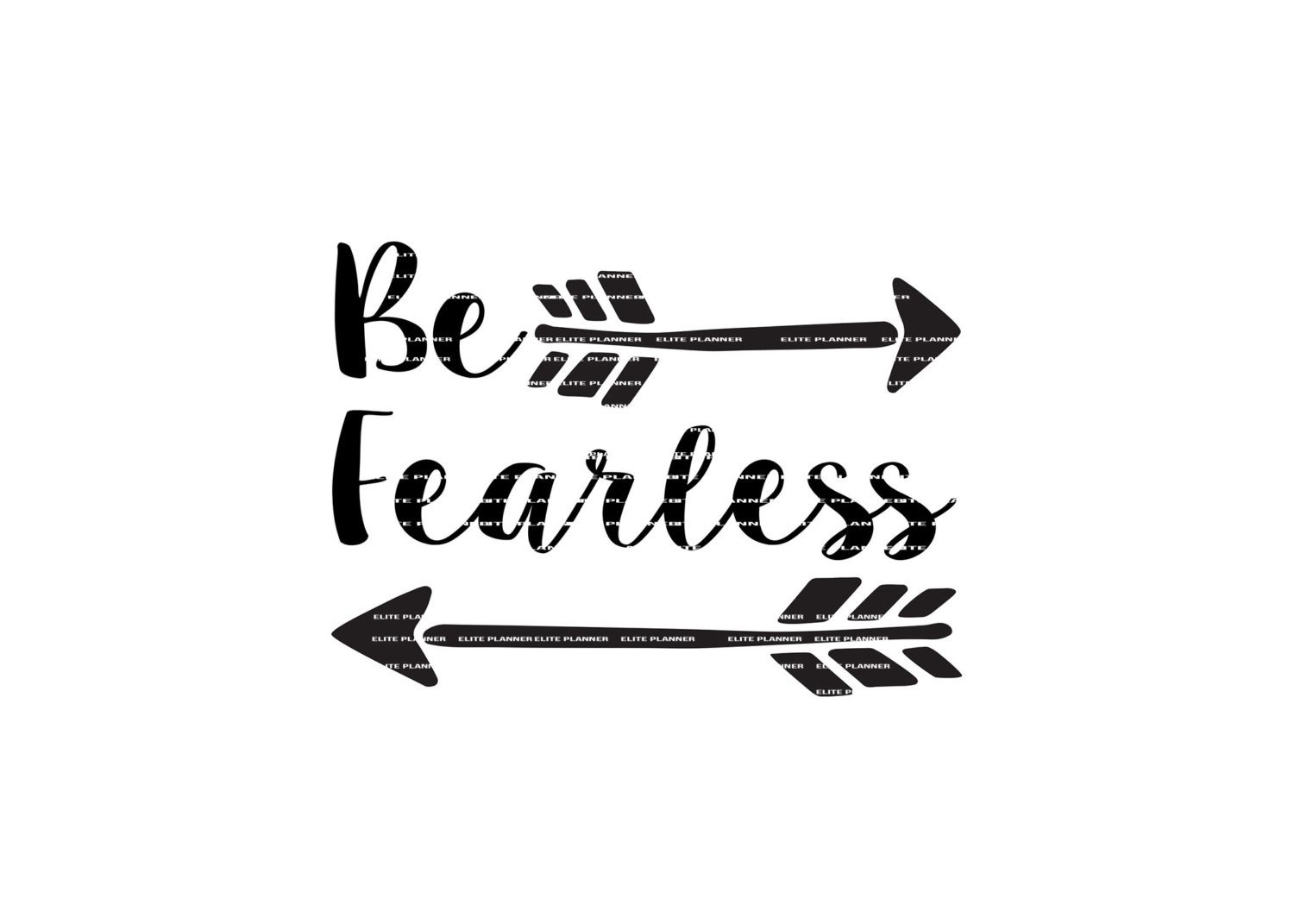1500x1071 Svg Quote, Quote Overlay, Be Fearless, Vinyl, Vector, Cutting File