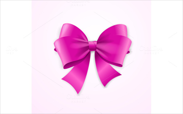 Cute Bow Vector