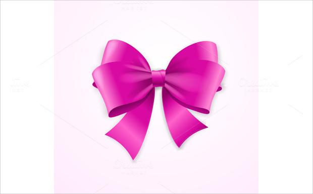 Cute Bow Vector