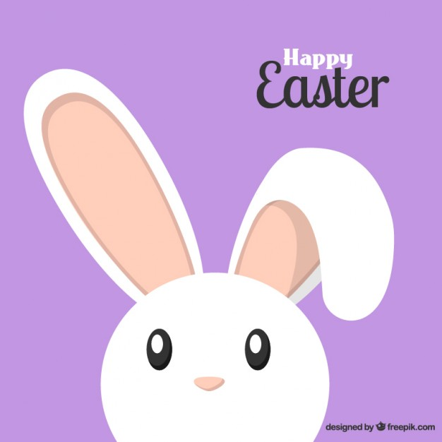 626x626 Lovely Easter Bunny Vector Free Download