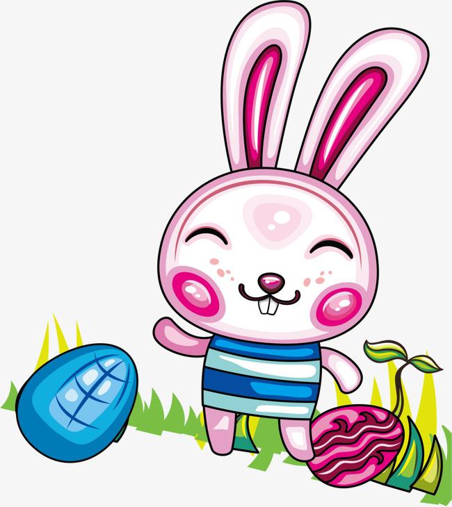 650x730 Vector Cartoon Illustration Cute Bunny, Cartoon Vector, Bunny