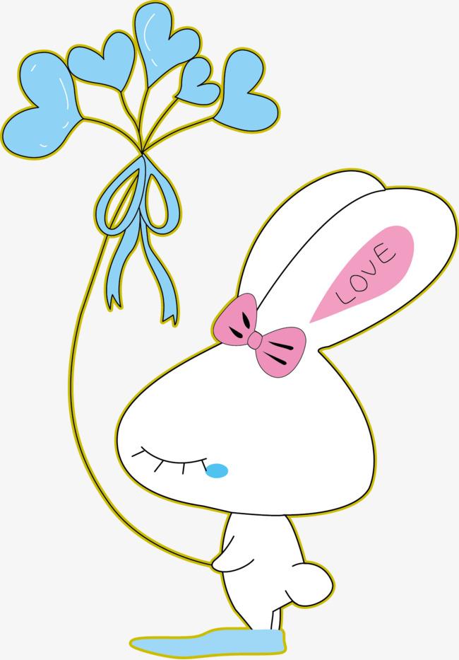 650x933 Vector Cute Bunny, Bunny Vector, Vector, Cartoon Png And Vector
