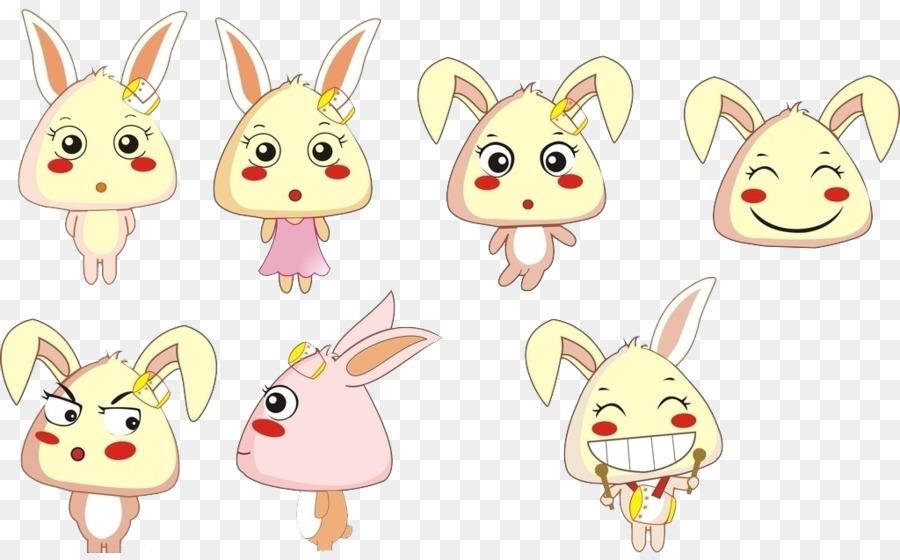 900x560 Cartoon Cuteness Rabbit
