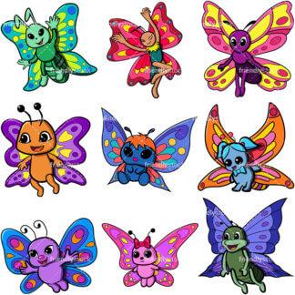 Cute Butterfly Vector