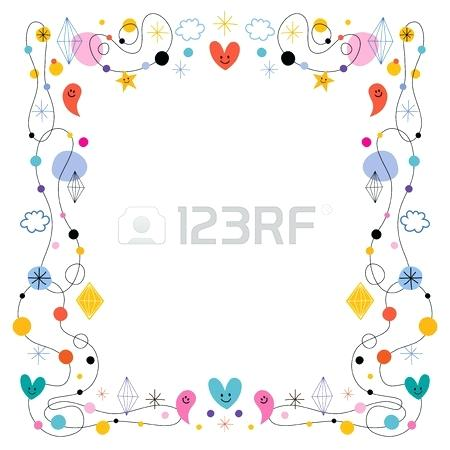 450x450 Cute Frame Cute Puppy Frame Cute Frame Vector Png Cute Photo Frame