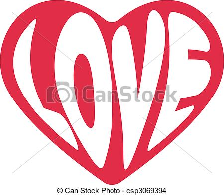 450x392 Decorative Vector Heart For Valentines Day. Cute Decorative Heart
