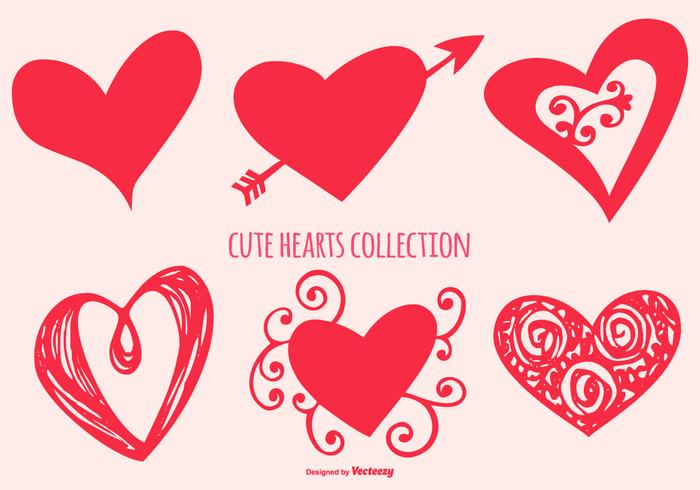 700x490 Free Heart Vector Art
