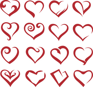 390x368 Vector Cute Heart Icons Free Vector Download (25,579 Free Vector