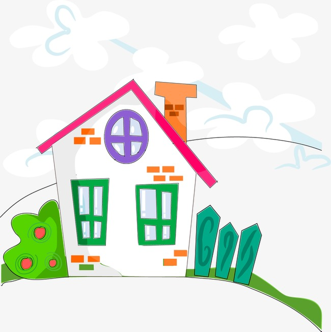 650x652 Cute Cartoon House, Cartoon Vector, House Vector, Cartoon Png And