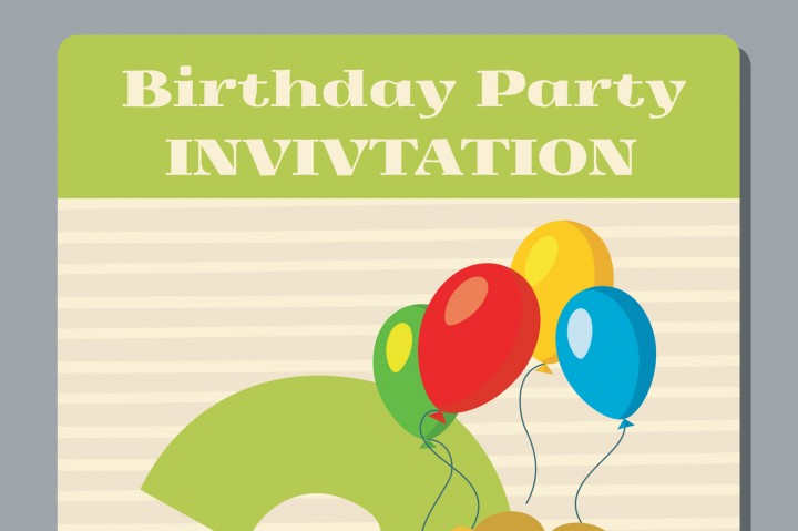 720x479 Birthday Holiday Greeting And Invitation With Cute Lion Vector