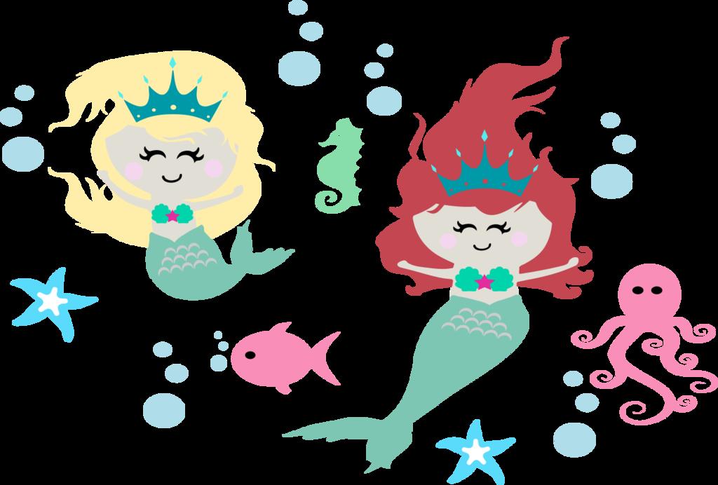 Cute Mermaid Vector